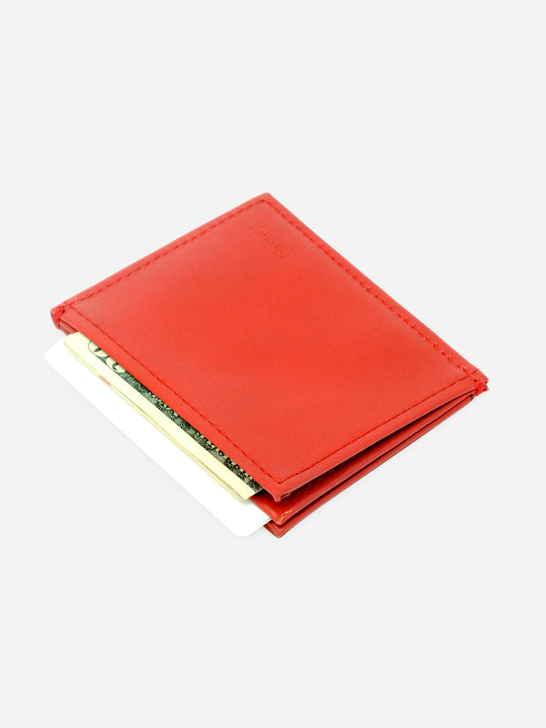 Slimmy OG 3-Pocket Wallet (73mm) - Core Red - Koyono Co.