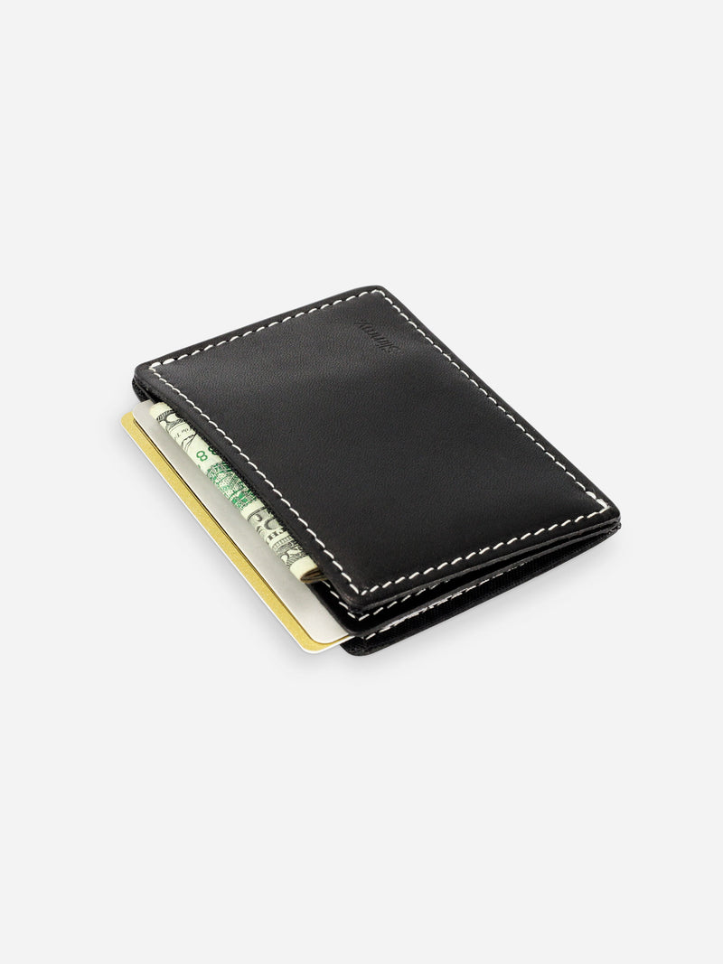 Slimmy R2S1 International 2-Pocket Wallet (68mm) - Black - bolstr
