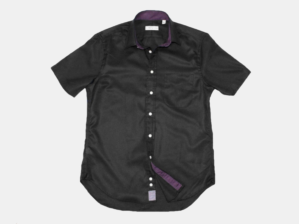 Fumoola Queens Oxford Short Sleeve Black Wear - Koyono Co. - 1