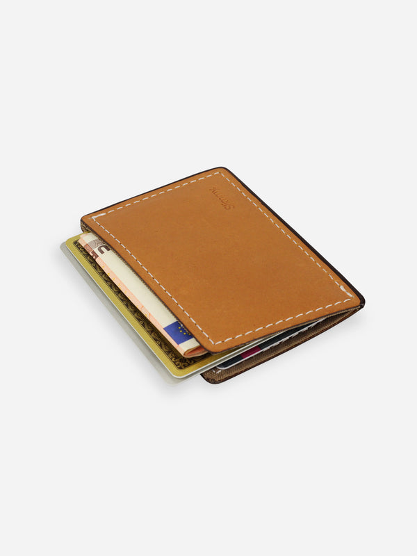 Slimmy R1S1 Mini 1-Pocket Wallet (68mm) - Antique - Koyono Co.