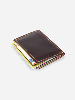 Slimmy R1S1 Mini 1-Pocket Wallet 68mm) - Oil Tan - bolstr