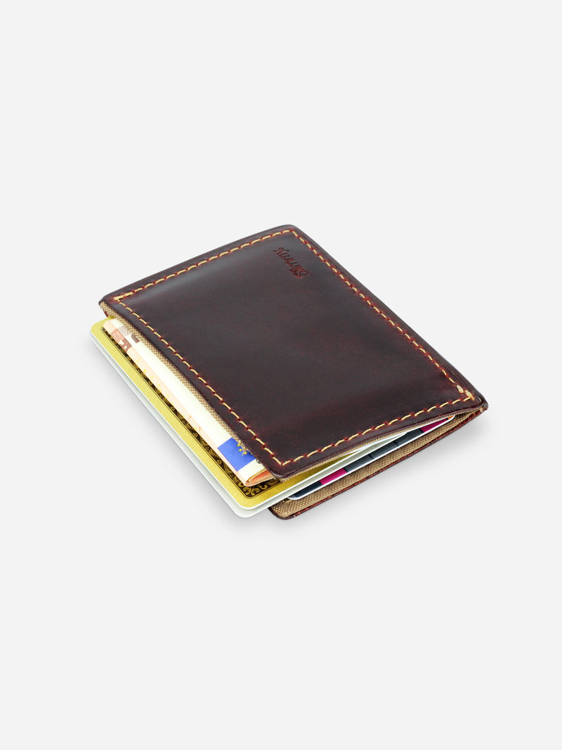 Slimmy R1S1 Mini 1-Pocket Wallet 68mm) - Oil Tan - Koyono Co.