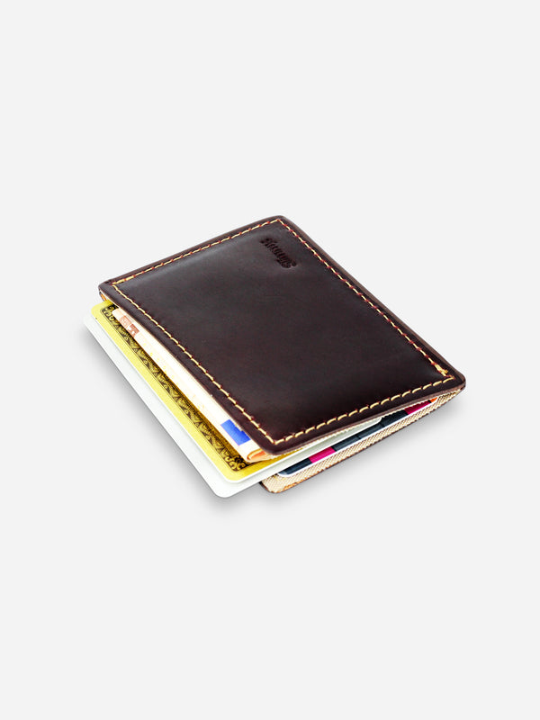 Slimmy R1S1 Mini 1-Pocket Wallet (68mm) - Horween - Koyono Co.