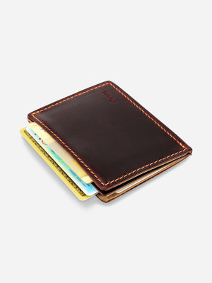 Slimmy X2S2 International 2-Pocket Wallet (79mm) - Black - Koyono Co.