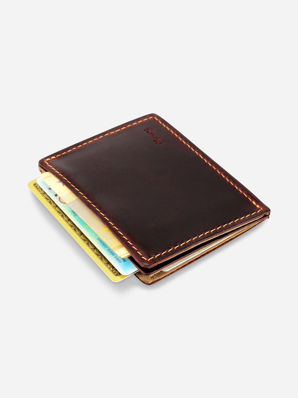Slimmy R2S2 International 2-Pocket Wallet (79mm) - Black - Koyono Co.