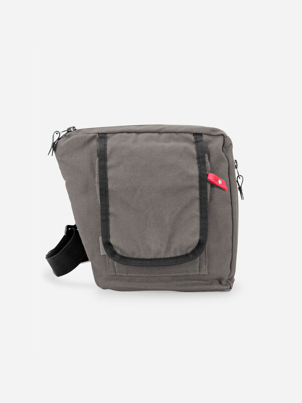 bolstr 2.0 Small Carry EDC Bag Stone Grey Canvas - Koyono Co.