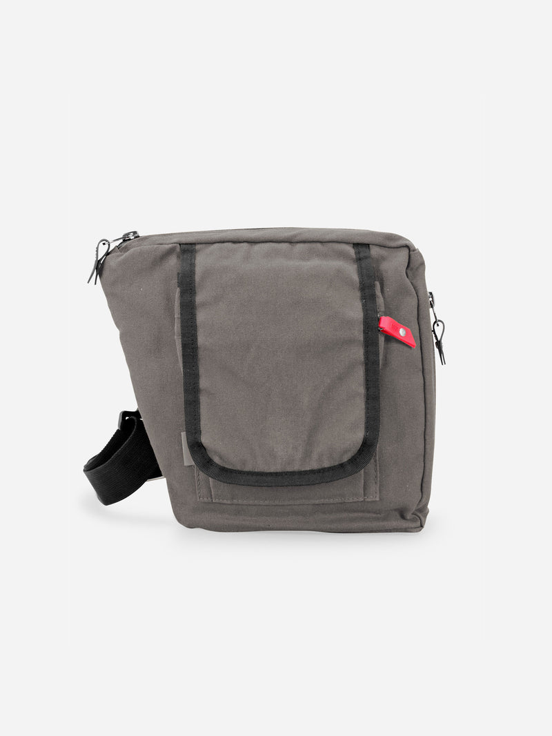 bolstr 2.0 Small Carry EDC Bag Stone Grey Canvas - bolstr® - Pocket Research