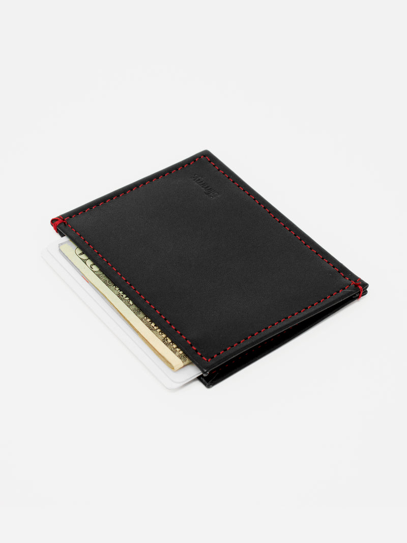 Slimmy OG 3-Pocket Wallet (73mm) - BRED - bolstr