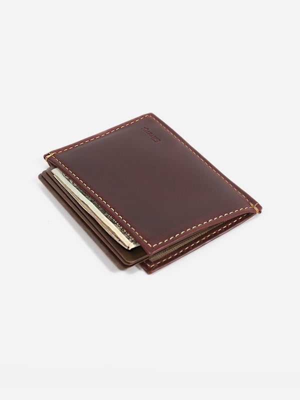 Slimmy OG X 1-Pocket Wallet (73mm) - Oil Tan - bolstr