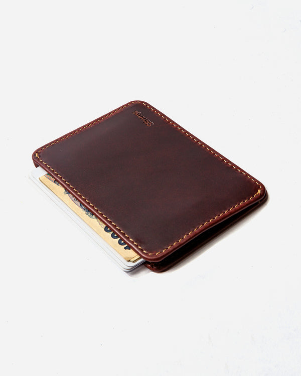 Slimmy R1S2 1-Pocket Wallet (83mm) - Oil Tan - bolstr® - Pocket Research