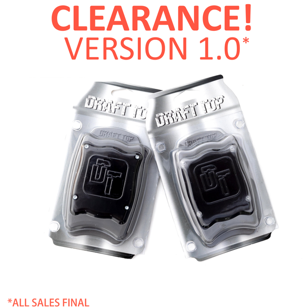 The Draft Top® 1.0 Bundle Pack (2) - Clearance