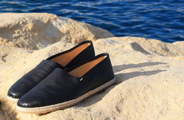 Espadrilles Leather Organic
