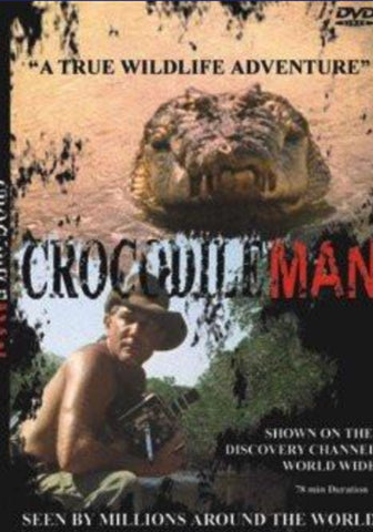 Crocodileman DVD
