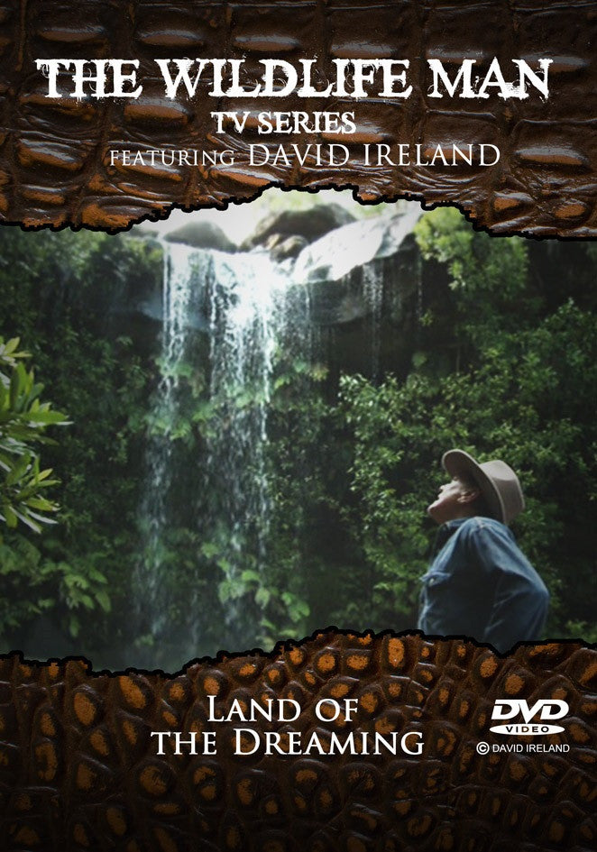 "Wildlife Man "" Land of the Dreaming "" DVD"