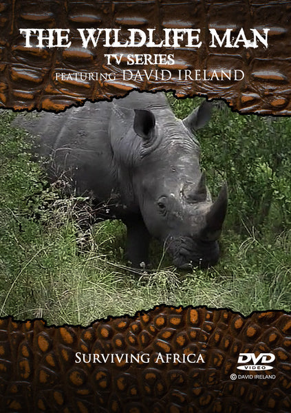 "Wildlife Man DVD  "" Surviving Africa"""