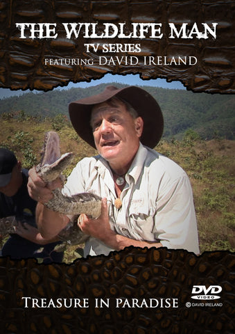 "Wildlife Man DVD "" Treasure in Paradise"""