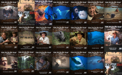 Wildlife Man TV Series - All 20 DVD's Plus free signed Autobiography (Over $600 value)