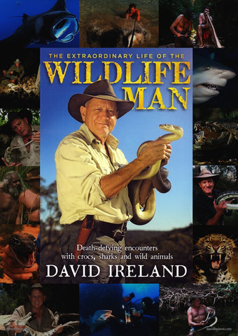 Wildlife Man Book and 5 x DVD pack