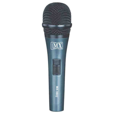 MX VOCAL DYNAMIC WIRED MICROPHONE WITH ACOUSTICS CARTRIDGE MX 3802