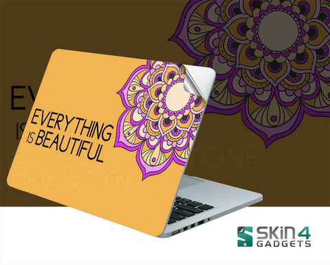 Skin4Gadgets Everything is Beautiful Laptop Skin For 11 inch and 11.6 inch Laptop - skin4gadgets