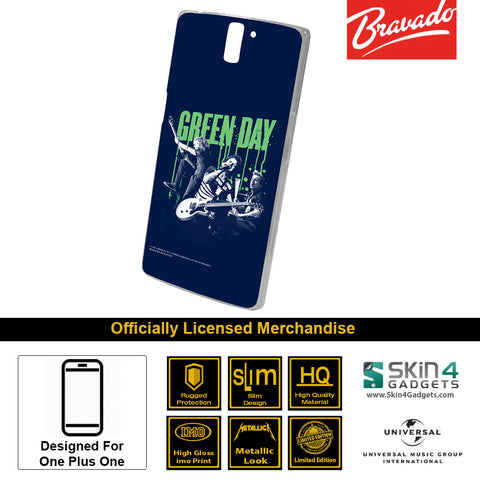 Phone Case For One Plus One   Green Day