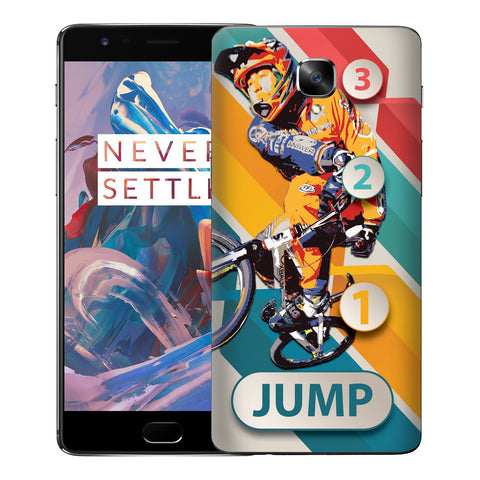 1 2 3 Jump For OnePlus Three Skin