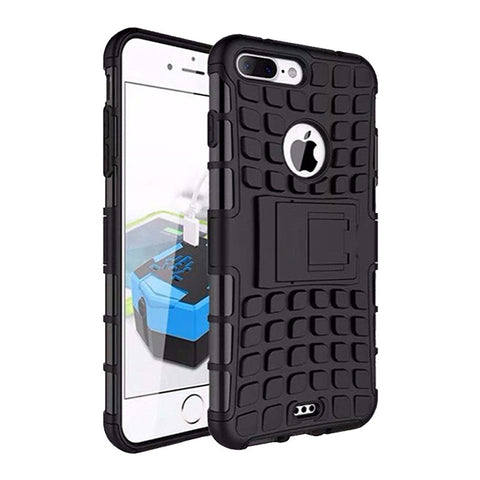 Defender Shockproof Hybrid Armour Back Cover for Apple iPhone 7 Plus with Kick Stand