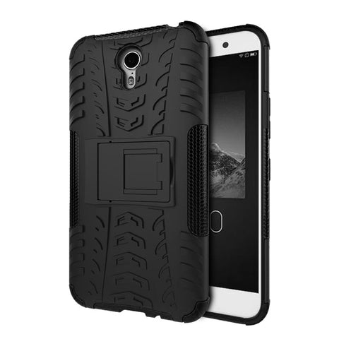 Defender Shockproof Hybrid Armour Back Cover for Lenovo ZUK Z1 with Kick Stand