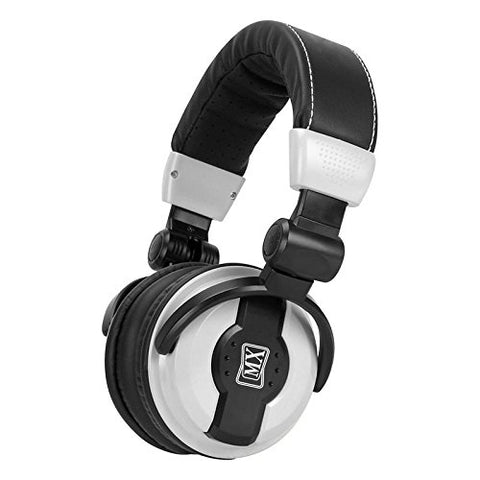 MX Value On Ear DJ Headphones - DJ 1000_Black