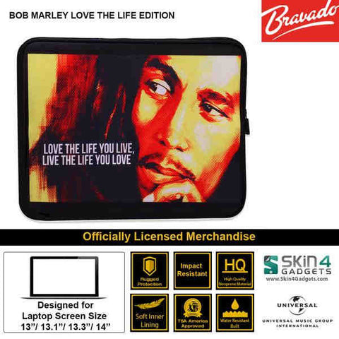 Laptop Sleeve for 11 inch Artist: BOB MARLEY Love the Life Edition - skin4gadgets