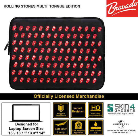 Laptop Sleeve for 11 inch Artist: Rolling Stone Iconic Multi Tongue Edition.