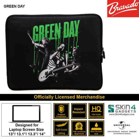 Laptop Sleeve for 13 inch Artist: Green Day Band Edition