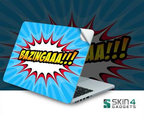 Skin4Gadgets Bazingaaa Laptop Skin For 15 and 15.6 inch Laptop