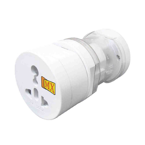 MX Universal All in One World Travel Adapter Surge Protector 150 COUNTRIES