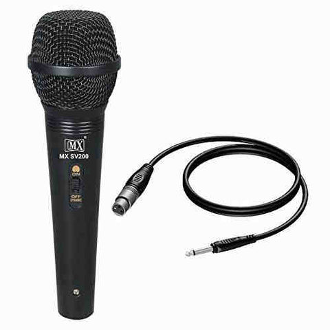 MX Vocal Dynamic Wired Microphone {MX SV200}