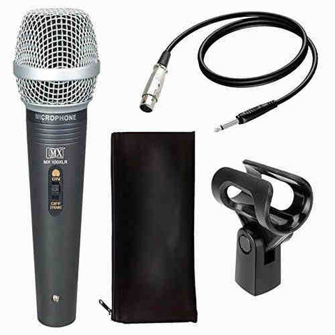 MX Vocal Dynamic Wired Microphone {100XLR}