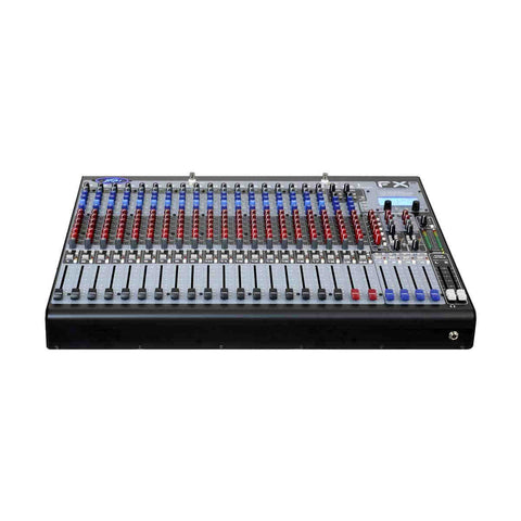 MX Peavey 24 Channel Power Mixer with Four-Bus Mixing Consoles