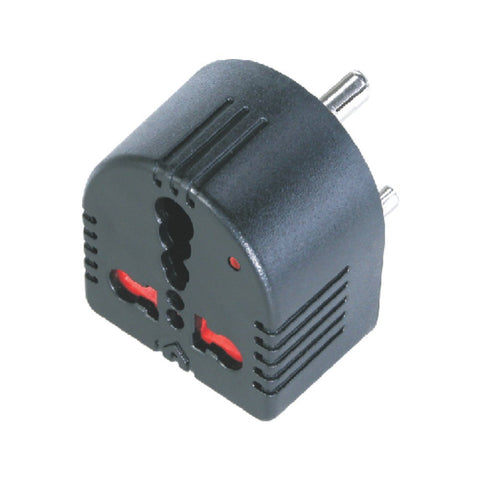 Mx Conversion MX1359 Plug Converts 5 Amps To 15 Amps 3 Socket with Child Safety Shutter with Indicator MX 1359