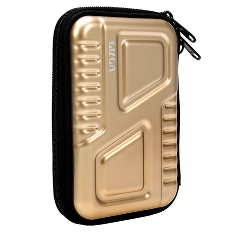 Hard Drive Case Metallic Hard Disk Armour - (Gold)