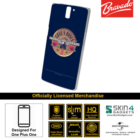 Phone Case For One Plus One  Artist: Guns n Roses Emblem  30 Years Edition
