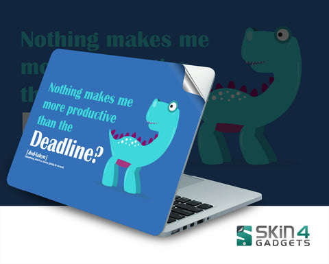 Skin4Gadgets Coding Dinosaur 4 Laptop Skin For 14 inch Laptop