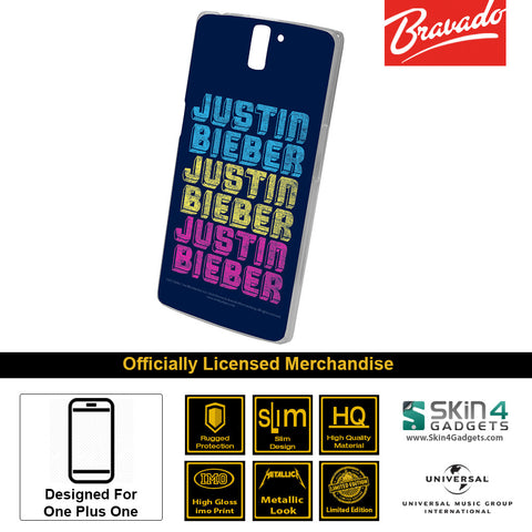 Phone Case For One Plus One   Artist: Justin Bieber Triple