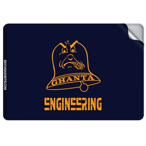 Ghanta Engineering  For APPLE MACKBOOK RETINA 15.4 INCH Skin