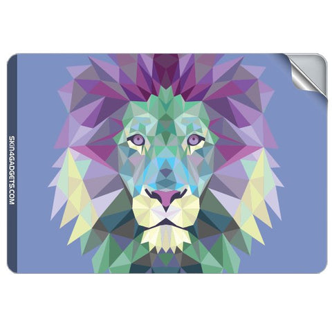 Magestic Lion For APPLE MACBOOK PRO 17.6 INCH Skin - skin4gadgets