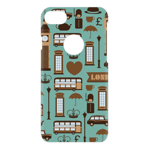 London Pattern For APPLE IPHONE 7 Designer CASE