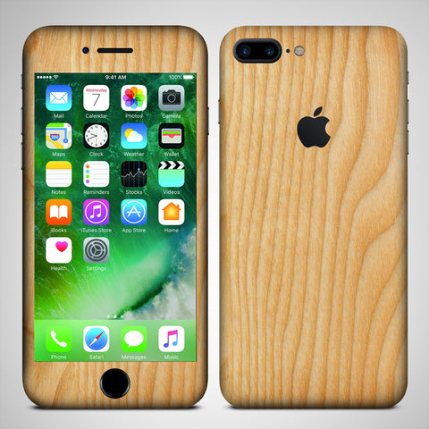 wooden pattern 2  iPhone 7 Plus designer skin