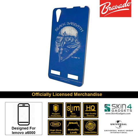 Phone Case For Lenovo A6000  Artist: Black Sabbath
