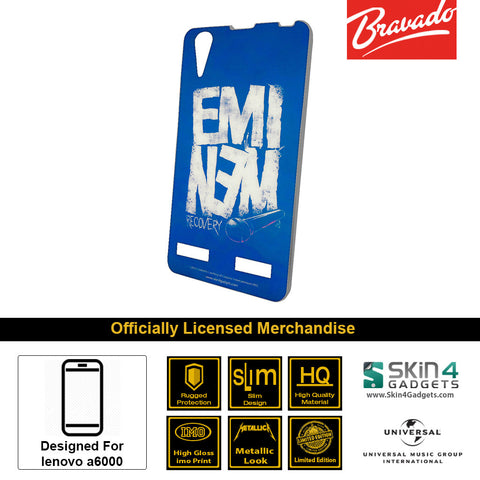 Phone Case For Lenovo A6000  Artist: Eminem Recovery