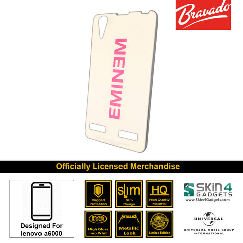 Phone Case For Lenovo A6000  Artist: Eminem