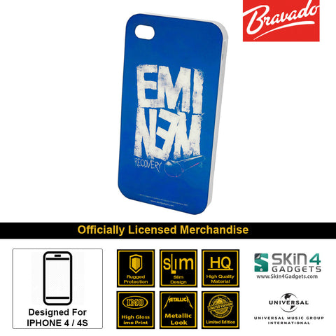 Phone Case For iPhone 4  Artist: Eminem Recovery